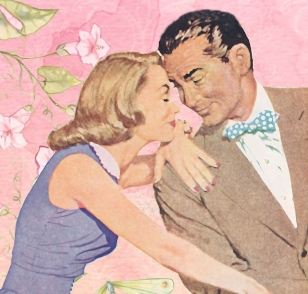 1950'S COUPLE -- Jo-B -- PX