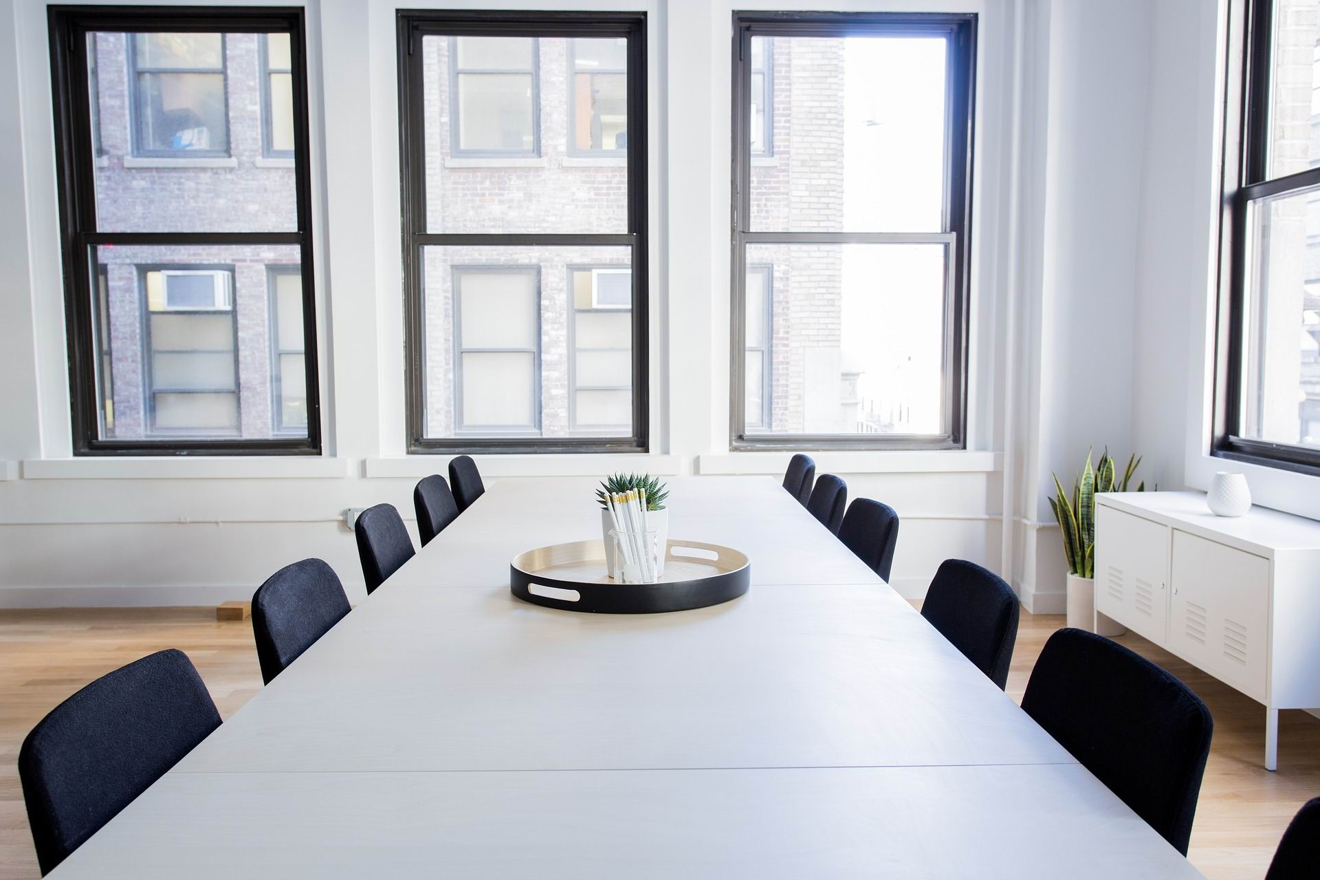 CONFERENCE TABLE AND CHAIRS -- Pexels -- PX