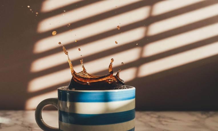 COFFEE PLOPPING -- AnnieSplatt -- PX