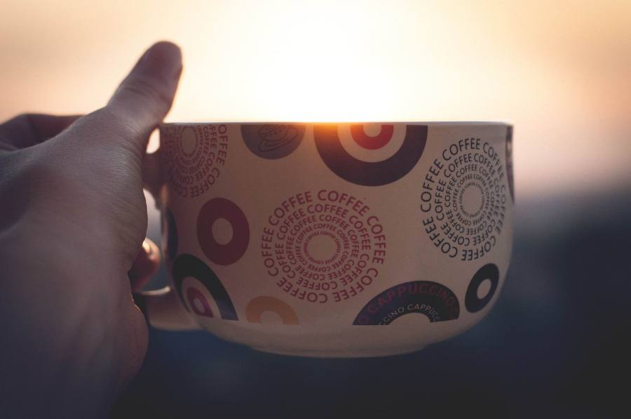 COFFEE BIG CUP, SUNSET --StockSnap - PX