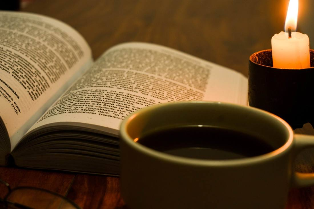 COFFEE, CANDEL, BOOK -- Zhiminalcela--PX