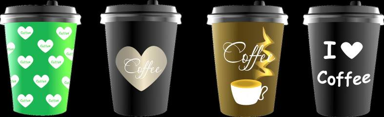 COFFEE CARRY-OUT CUPS -- Verbera -- PX