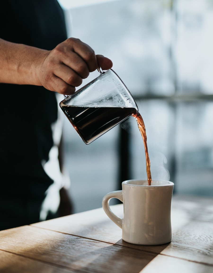 POURING COFFEE - nathan-dumlao-607604-unsplash -- Photo by Nathan Dumlao on Unsplash