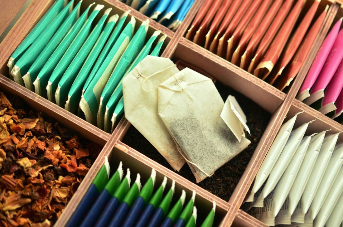 TEA BAG VARIETY -- Congerdesign -- PX