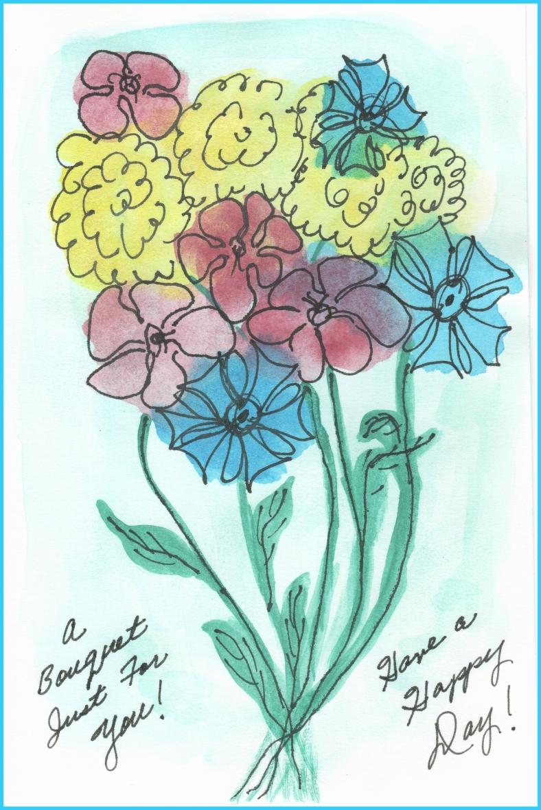 HAPPY DAY CARD EDITED w. frame