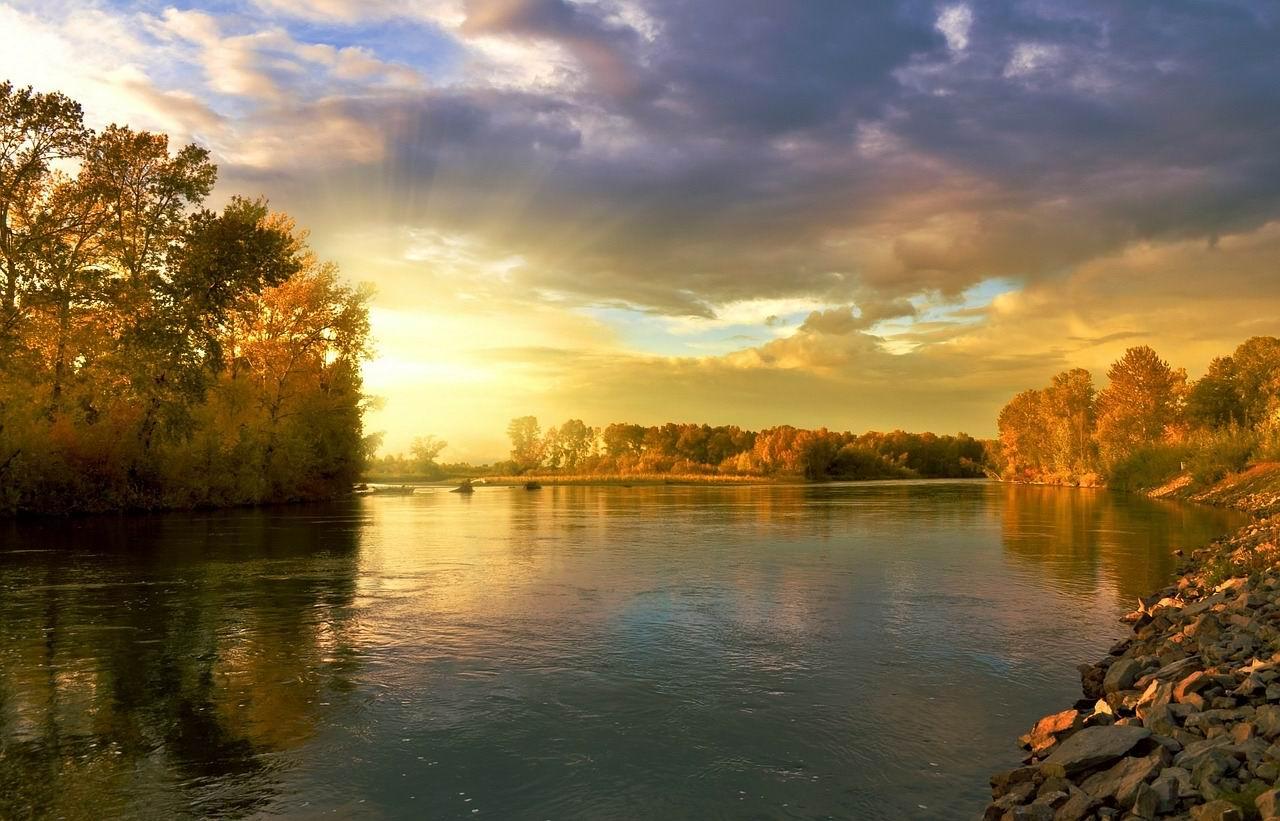 AUTUMN RIVER - Larisa Koshkina -- PX