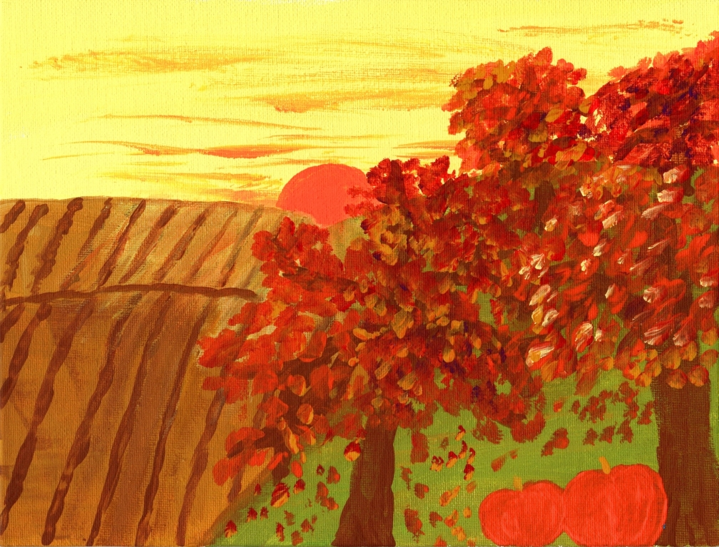AUTUMN DAY ACRYLICS - ED.