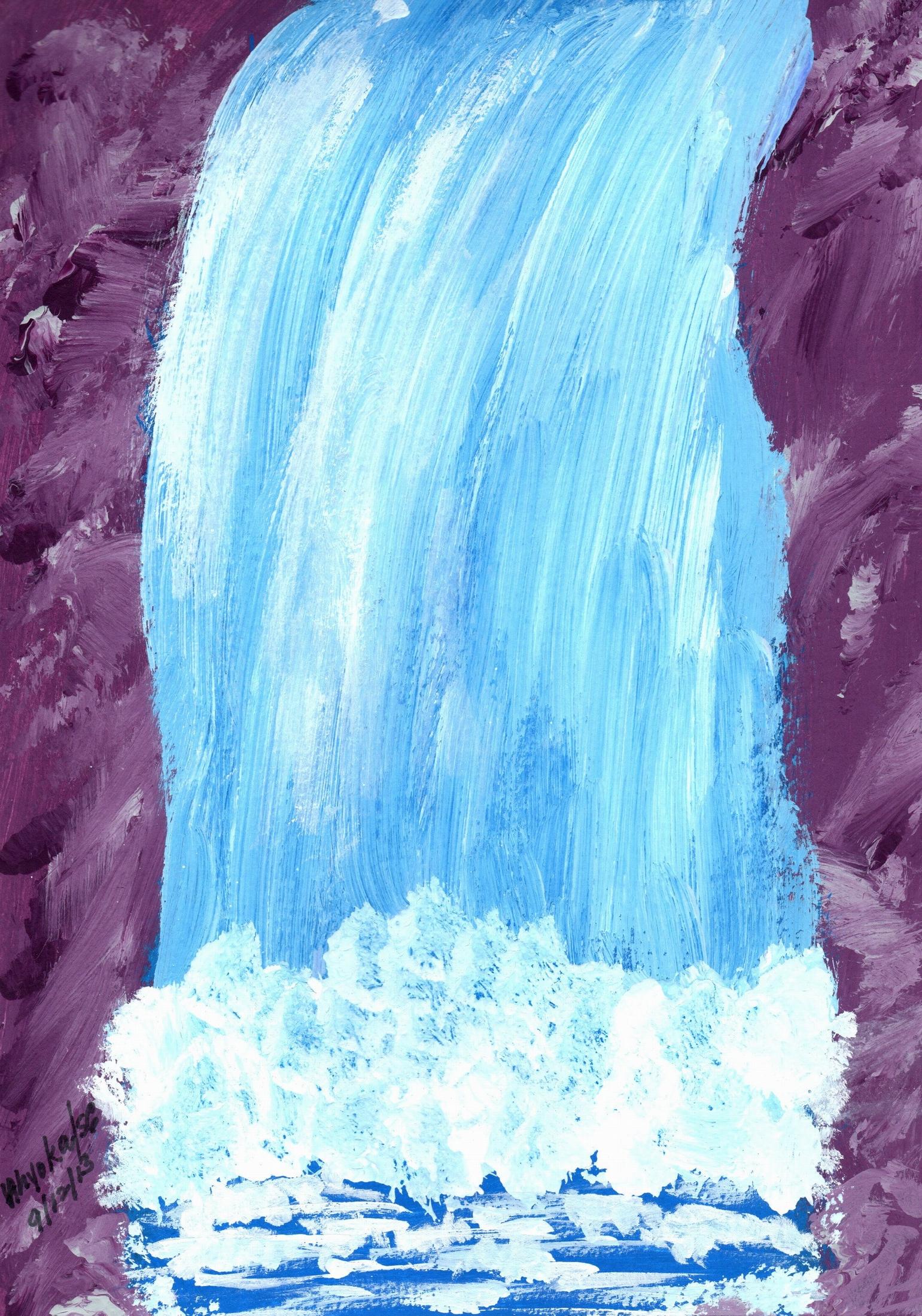 WATERFALL AT GARNET CLIFF
