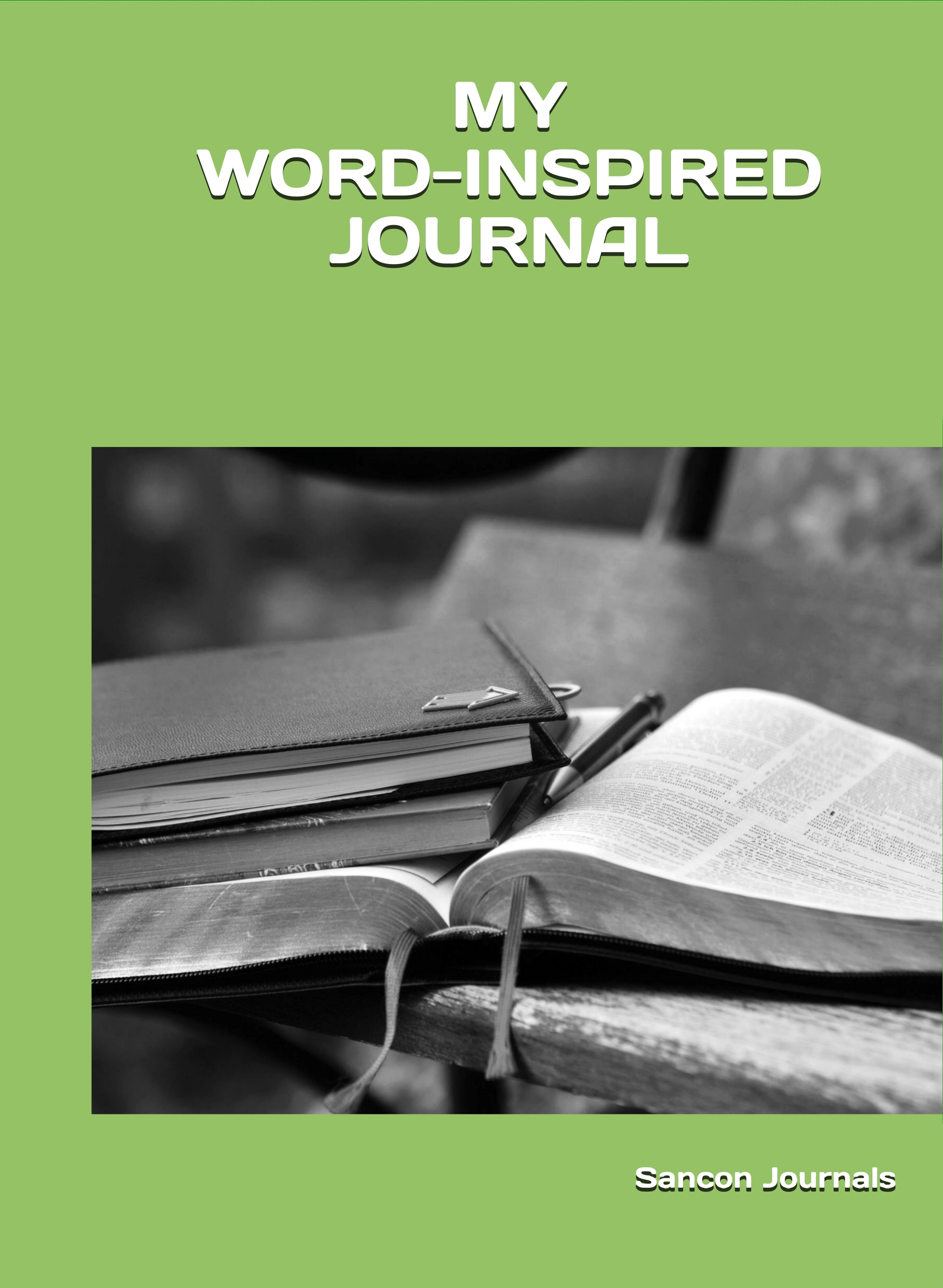 WORD-INSPIRED COVER - front