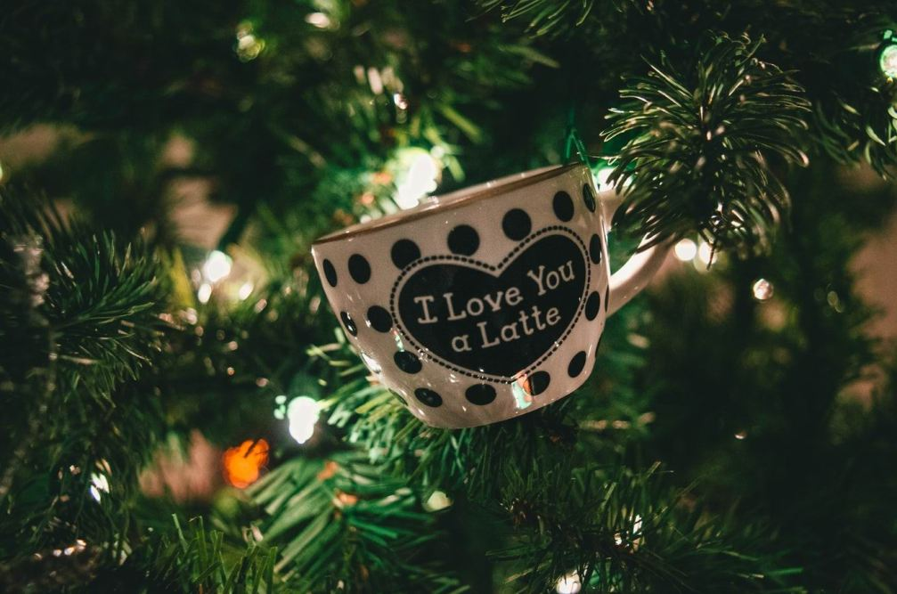 COFFEE CUP ON TREE - LATTE -- Photo by Jonathan Meyer on Unsplash