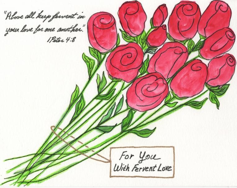 ROSES - FERVENT LOVE 2,D SCAN