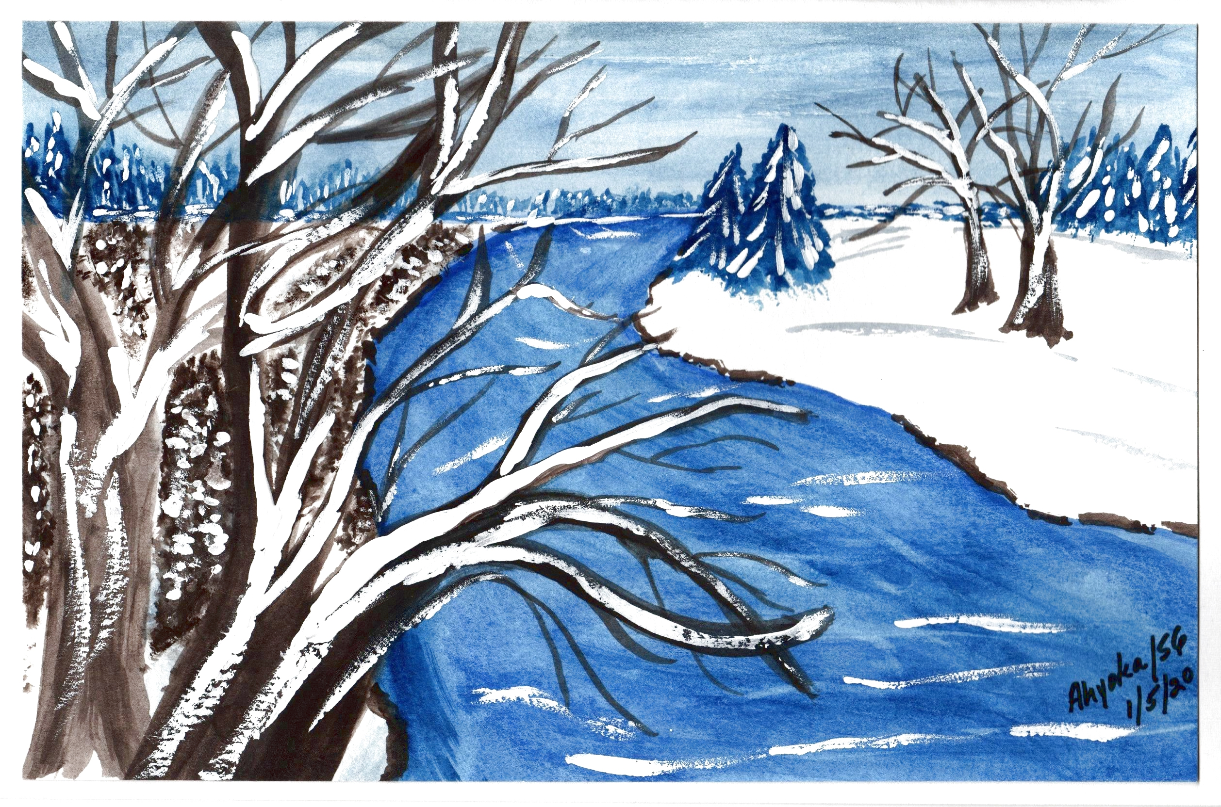 WINTER RIVER FOR TERRY - LIGHTER