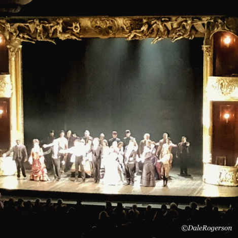 CAST ONSTAGE FOR F.F.