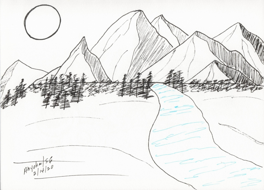 MOUNTAIN STREAM - BLUE TOUCH