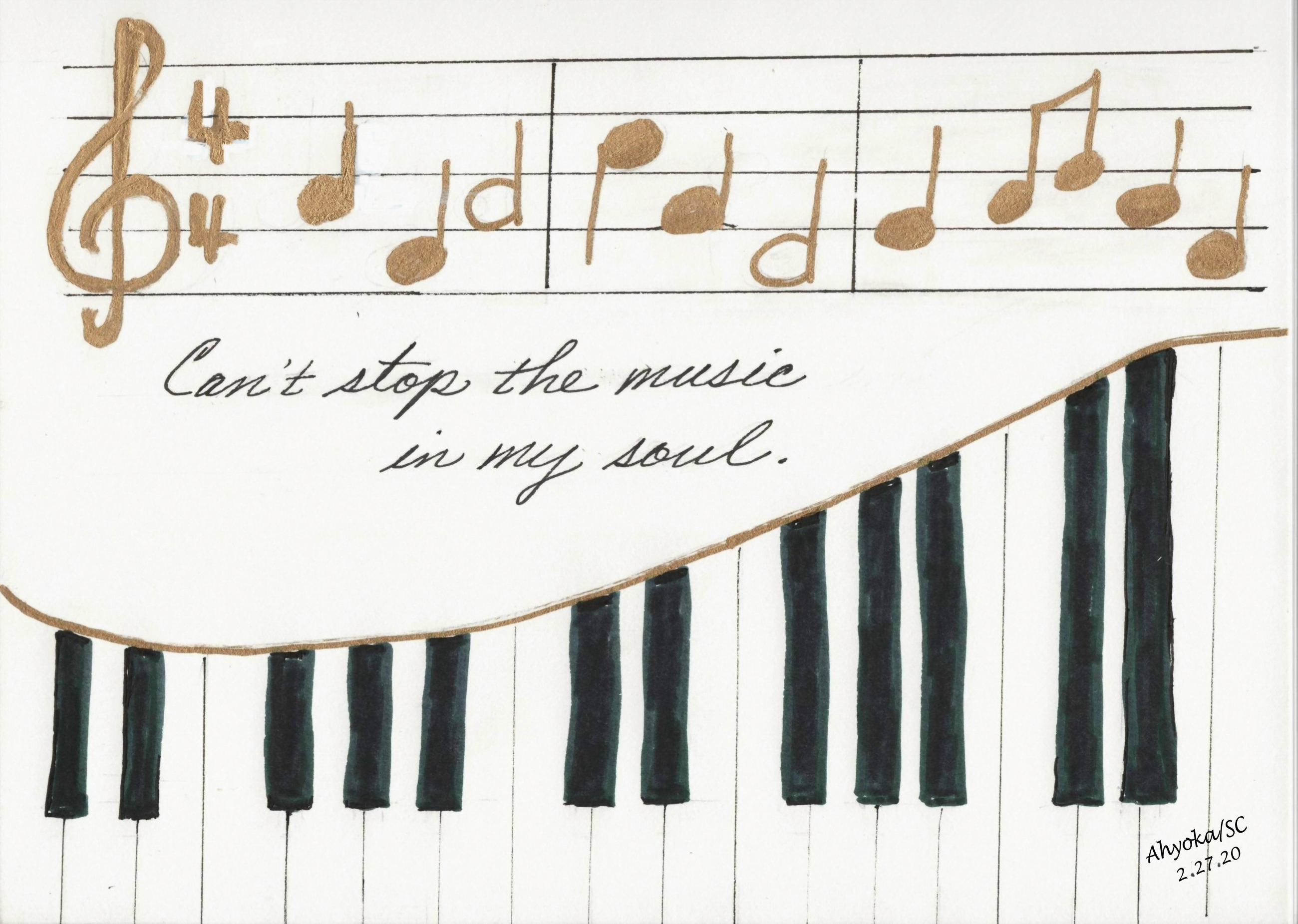 PIANO SKETCH - EDITED