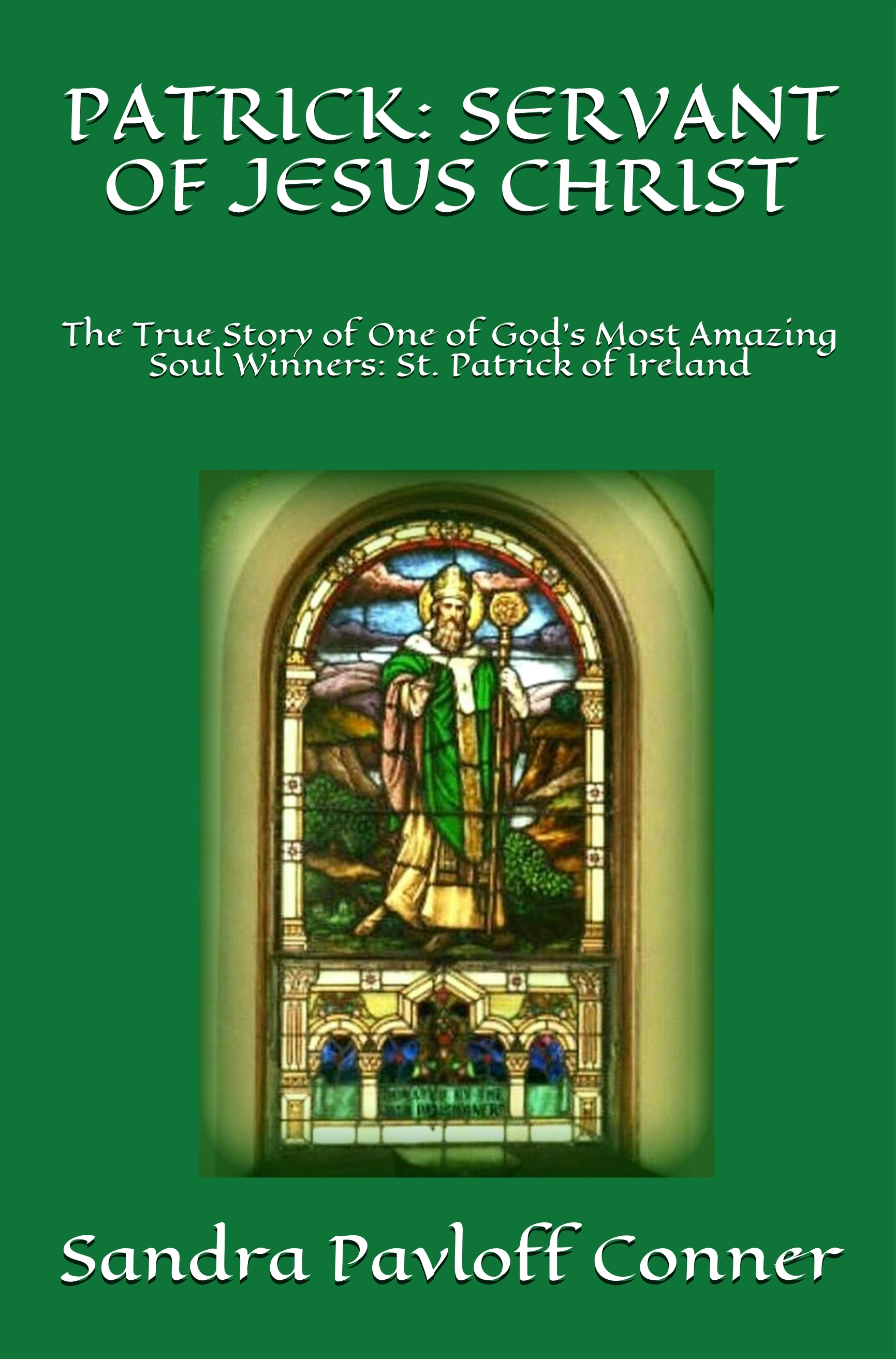 ST. PATRICK BOOK AMAZON FRONT COVER BRIGHTER