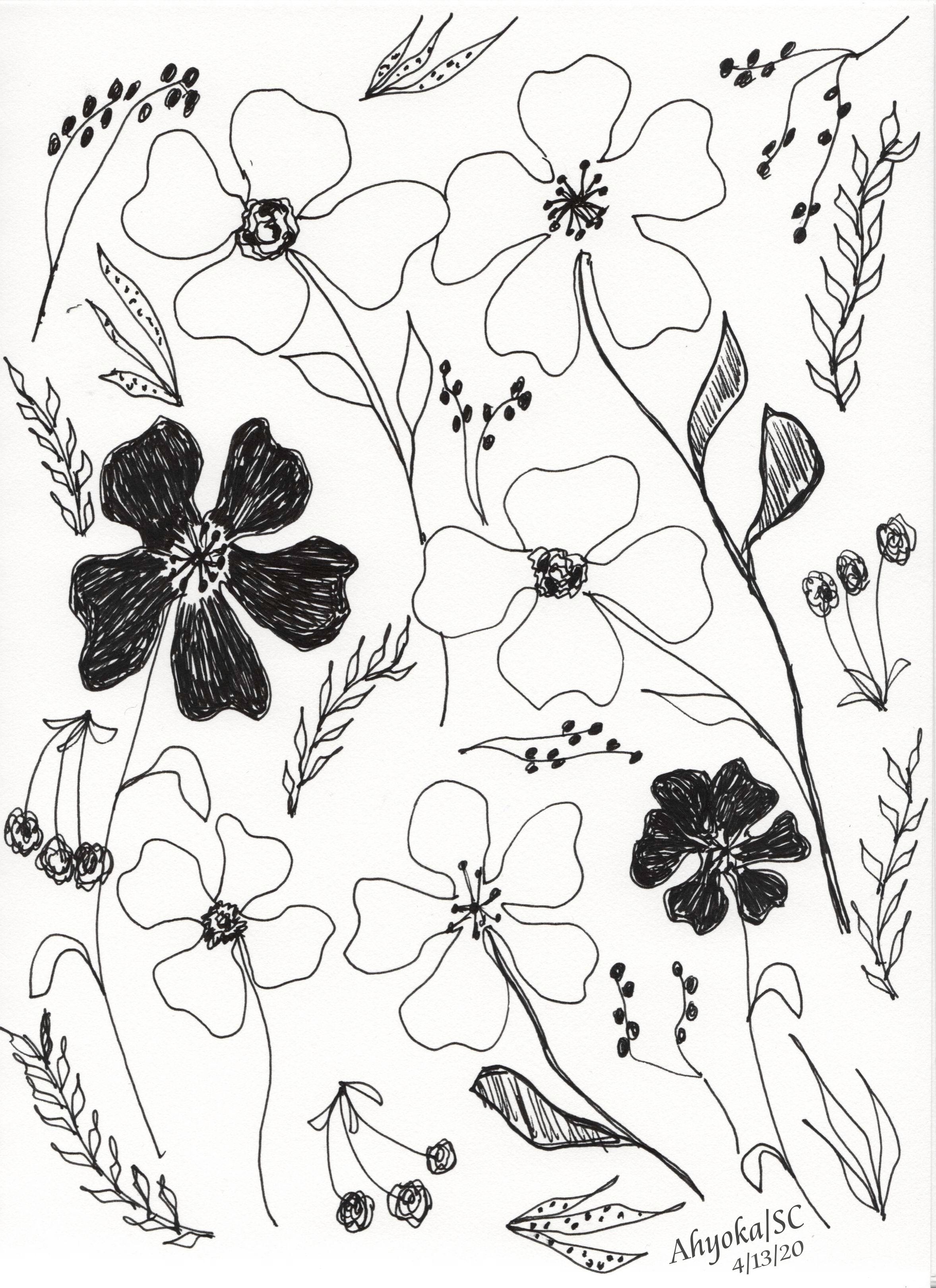 FLOWER SHOWER - w. credits