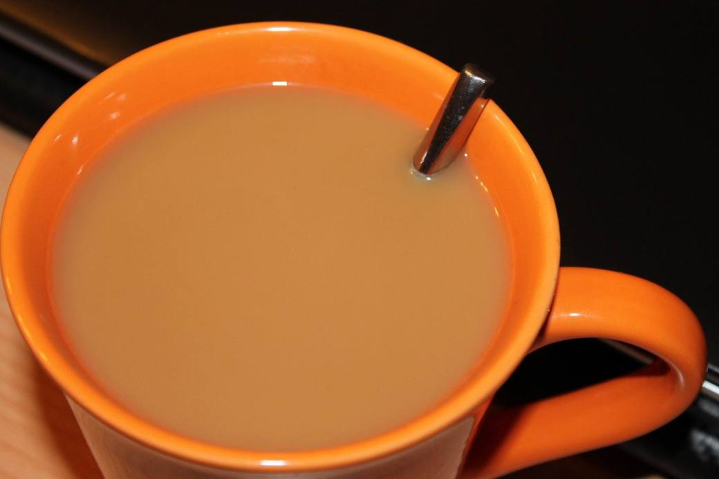COFFEE ORANGE CUP -- Kalhh -- PX
