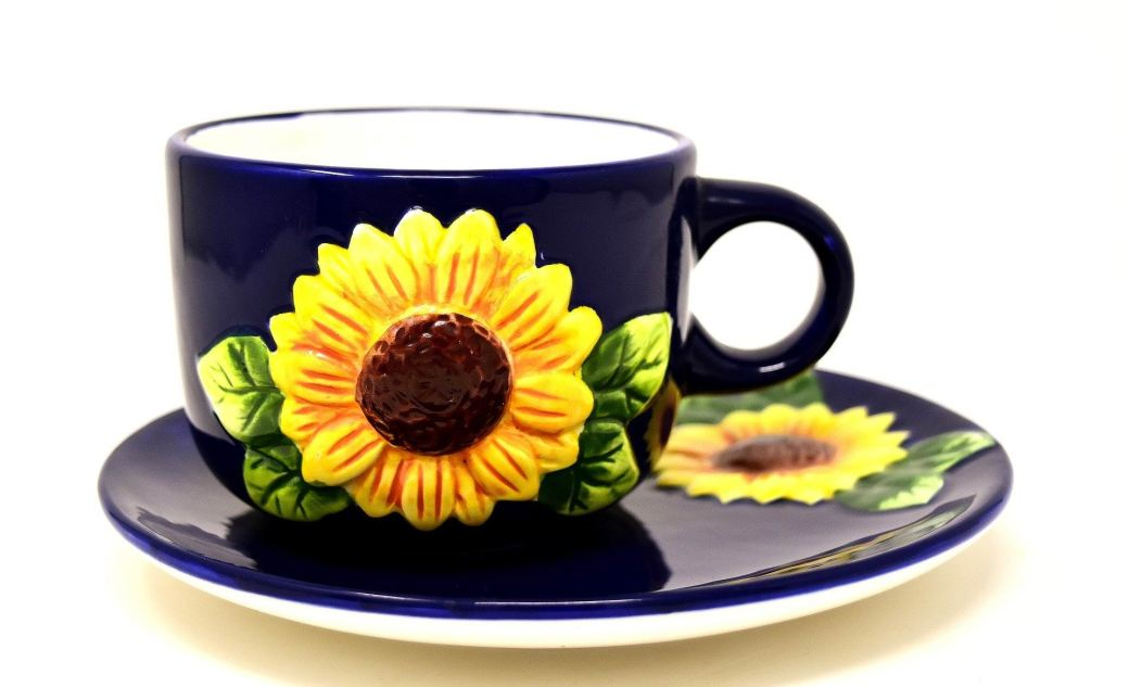 COFFEE SET - SUNFLOWER -- Alexa_Foto - PX
