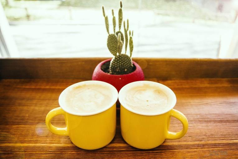 TWO YELLOW COFFEES -- Alina Zakovyrko - PX